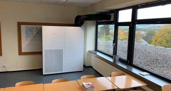 Viessmann launch ventilation system to tackle covid in schools