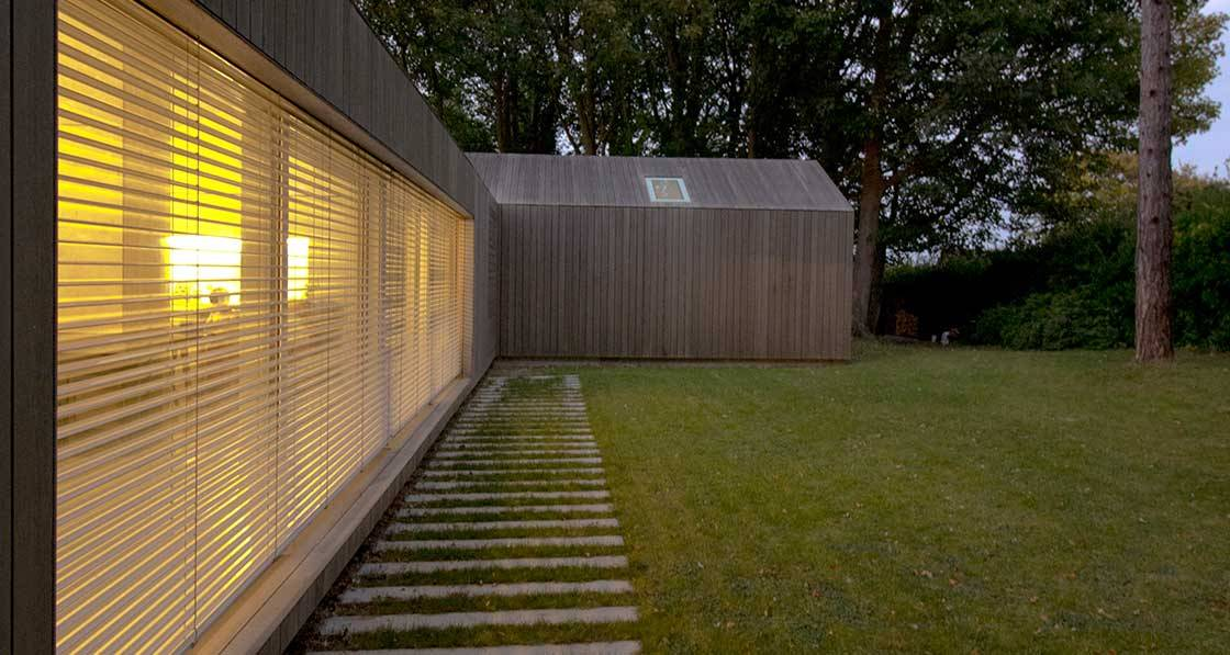 Pecking order - Award-winning passive house makes an elegant mark on the South Downs